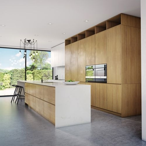 Italian Modular Kitchen by Hema Kitchen & Furniture