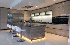 Italian Modular Kitchen by Klassic Furn