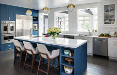 Modern Kitchen Cabinet by Nectar Modular Kitchen