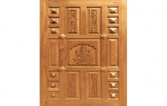 New Padaiyappa CMD 110 Teak Wood Door   by Maruthi Timber Industries