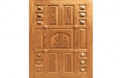 New Padaiyappa CMD 110 Teak Wood Door   by Maruthi Timber Industries
