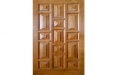 Teak Wood Door    by Confidence Plywood