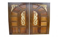 Century Teak Wood Door by Raj Wood Worker