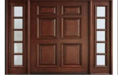 Wooden Front Door by Haresh Timber