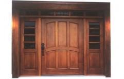 Wooden Front Door by Sree Meenakshi Glass Plywoods Aluminium Traders