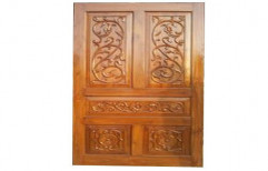 Wooden Teak Doors by Durga Wood Carving Shop