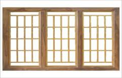 Wooden Window by Kalim Hardware