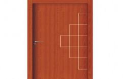 Brown Swing WPC Door, For Home,Office