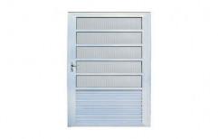 Aluminium Sheet For Bathroom Door by Nagal Furniture & Aluminium Works