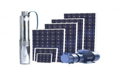 DC Solar Submersible Pump by H & L Trading Co.