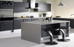 Modern Kitchen Design by V. K. Sharma & Co.