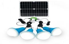 Portable Solar LED Light by The Wolt Techniques