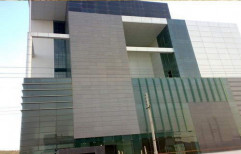 Aluminium Composite Panel Cladding Services by Hindustan Windows Systems