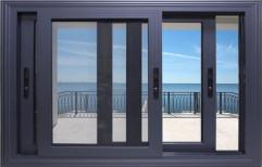 Aluminium Sliding Window by Vir Krupa Engineers