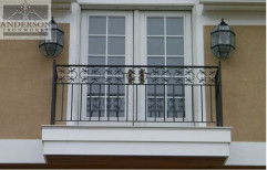 Balcony Safety Door Design by Pro Consultant
