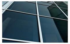 Black Glass Window