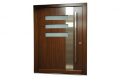 Brown Wooden Main Door by S K Furniture House