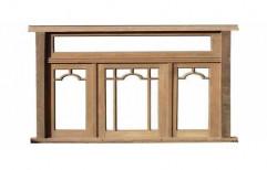 Fancy Wooden Window    by Sivam Wood Industries