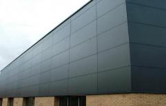 Flexibond Aluminium Composite Panel Cladding Service by Theju Aluminium