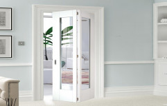 Frosted Glass Bifold Door