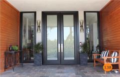 Frosted Glass Exterior Door