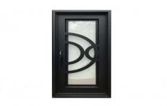 Modern Safety Door Design by Sony Aluminum & Glass