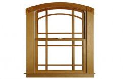 Pivoted Wood Windows by Pawan Painter