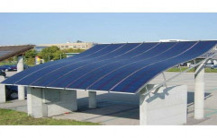 Thin film solar panels for metal roofs