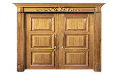 Designer Teak Wood Double  Door by Krishna Timber & Plywood