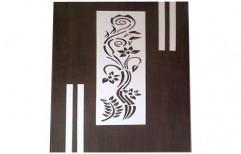 Polished Designer Wooden Door