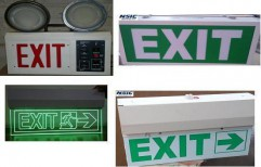 LED Exit Sign by SPJ Solar Technology Private Limited