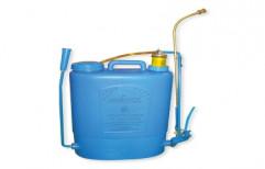 Blue Brass Knapsack Manual Sprayer, For Agriculture & Farming, Model Name/Number: HARIYALI-08