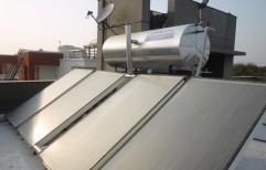 Solar Water Heating System by Steelhacks Industries