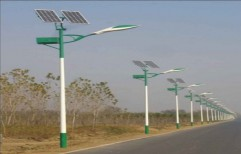 19 Feet Solar Street Light Poles by Kasper Engineering