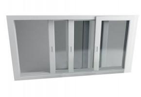 3 Track Aluminium  Sliding Windows by Jangid Buildcone