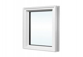 White Aluminium Fixed Window