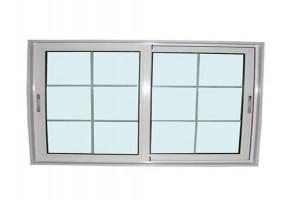 Aluminium Sliding Window For Exterior   by Om Aluminium & Steel