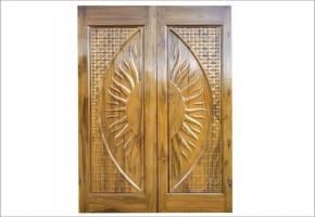 Burma Teak Wood Doors by BRS Doors & Panels