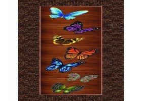 Butterfly Print Flush Door   by Unex Profiles