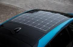 Car roof solar panel