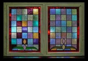 Colour Window Glass