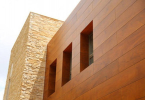 Exterior Cladding HPL Sheet  by Window Kraft