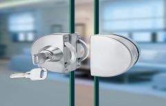 Glass Door Lock by Megha Marketing