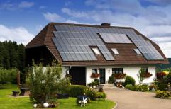 House roof solar panels