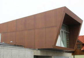 Hpl  Exterior Cladding  by Aluminum Fabrication