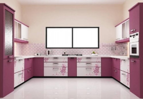 Laminated Modular Kitchen by Anoop Plywood Agency
