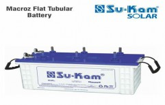 Macroz Flat Tubular Battery 150 Ah by Sukam Power System Limited