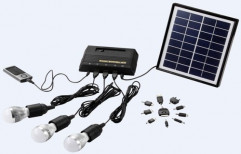 Mini Solar Lighting Systems by Deepthi Solar & Water Solutions