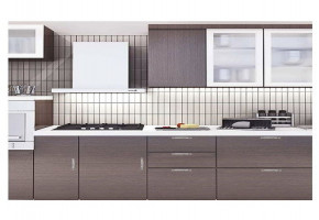 Modular Kitchen Acquaric by Himaliya Peaks Wood Industries