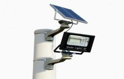 Outdoor Solar Lighting System by Steelhacks Industries